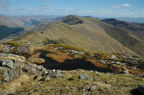 Sgurr Thuilm to the east of Sgurr nan Coireachan