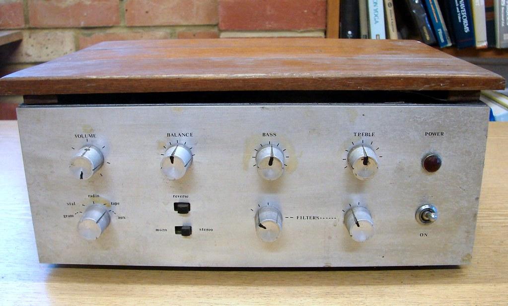 pi-mode stereo amplifier 1965