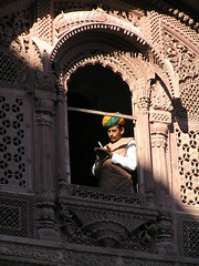 Jodhpur: (namelessCat) Tags: people india rtw jodhpur meherangarh lpwindows