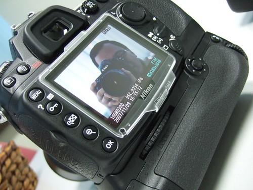 Nikon D300 LCD