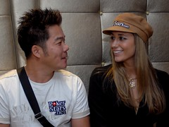 Tuan Lam, and Vanessa Rousso at the APPT Macau Press Conference