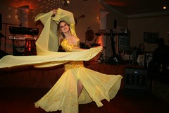 One of the Caspian belly dancers. (12/06/2007)
