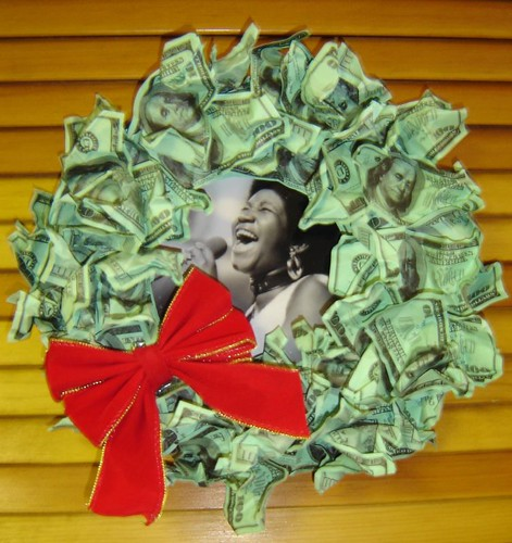 A-wreath-a Franklins.