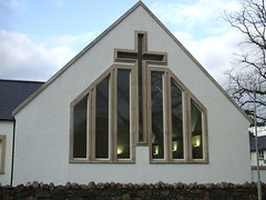 Church Window - St Mary's, Portree (Queenbie) Tags: skye window scotland catholicchurch stmaryschurch portree