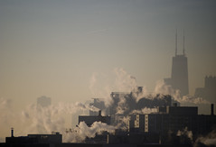 cold focus (JosephRPalmer Photography) Tags: usa chicago cold smoke il chicagoist chitowndailynews