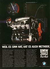 Reklame BMW 2002 Turbo (1973) (jens.lilienthal) Tags: 2002 classic vintage advertising reclame ad advertisement turbo 02 advert bmw werbung publicit 1973 reklame anzeige rclame werbeanzeige rallyeracing amzeige zeitungsreklame