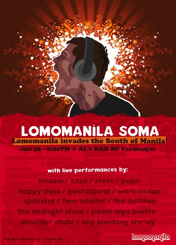 Lomo Manila Invades South of Manila