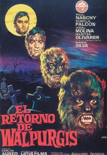1973 - el retorno de walpurgis
