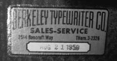 typwriter stamp