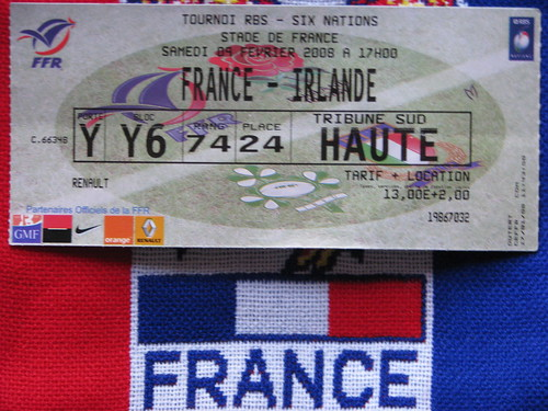 Billet France - Irlande