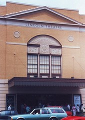 Lincoln Theatre in 1995 (Mr.TinDC) Tags: architecture buildings washingtondc dc scanned 1995 theaters theatres ustreet lincolntheater lincolntheatre