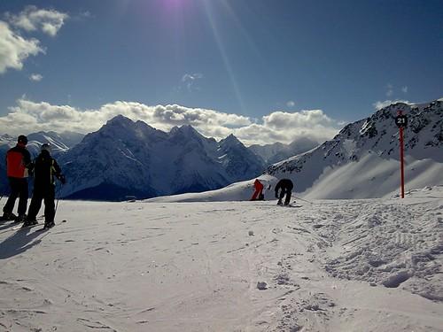 Scuol Skifahren 03