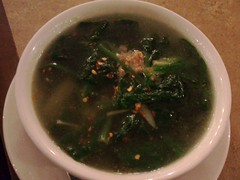 Spinach ginger soup