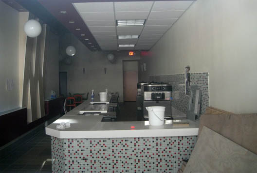 Frozen Yogurt Interior