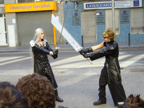 Final Fantasy VII Sephiroth Foto Cosplay