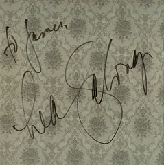 Lea Salonga signed the back of the CD sleeve for me. (01/03/2008)