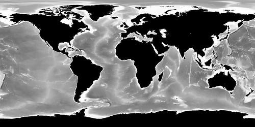 Bathymetrie Terre