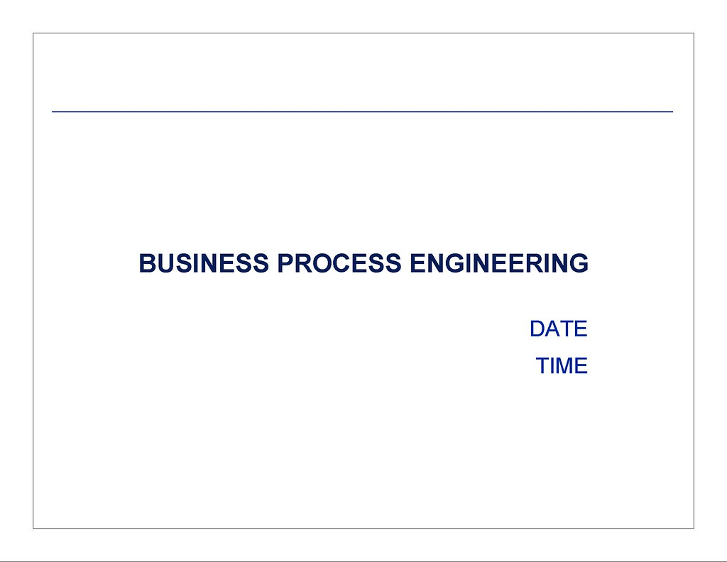 This Is A Sample Set Of Slides That Could Be Used In Conjunction With The Agenda For Business Process Engineering Kickoff Meeting