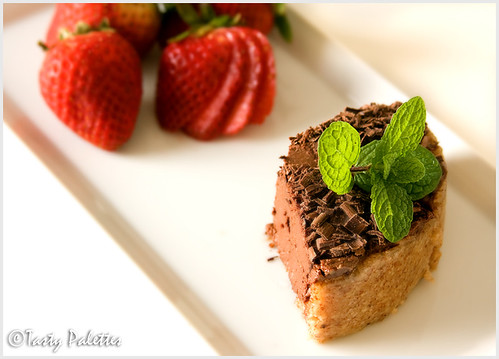Silken Chocolate Mousse Cake