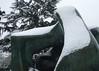 13 Large Two Forms, 19667 (chericbaker) Tags: sculpture kewgardens snow kew moore henrymoore mooreatkew
