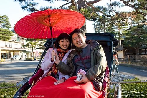 日本飛驒高山 人力車