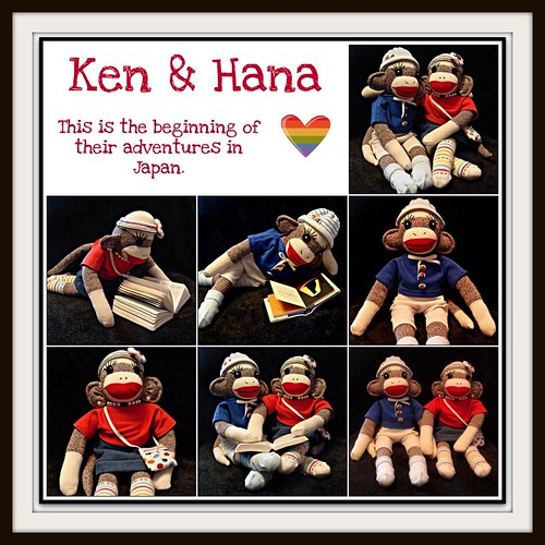 "Ken and Hana say ""Hello!"""