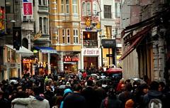 kalabalkta... (Cerenlyce) Tags: life street city people love colors umbrella turkey nikon rainyday trkiye turkiye istanbul explore april beyoglu istiklal turk crowded nisan hayat trk insan ak sevgi ceren yaam beyolu insanlar onexplore istiklalcaddesi turkei scak yamur kalabalk cadde renkler zst yry trkler ehir emsiye kucak nikond80 fotorafkraathanesi cerenceren trkinsan yamurlubirgn