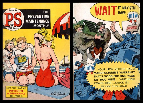 Preventive Maintenance Monthly Issue 44, 1956 (Will Eisner)