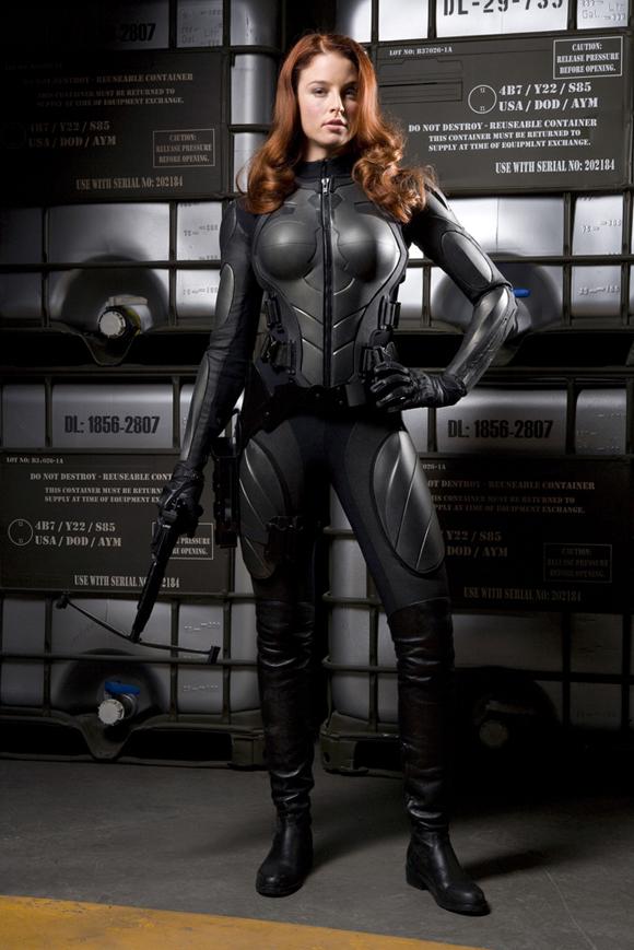 Rachel Nichols es Scarlett G.I. Joe: Rise of Cobra