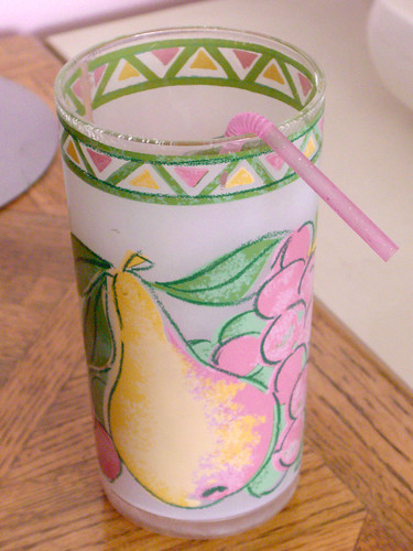 Vintage plastic cups