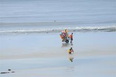 (Bianca Lima) Tags: color praia beach nature água vendedor sand areia natureza salinas nublado reflexo cor atalaia surfista