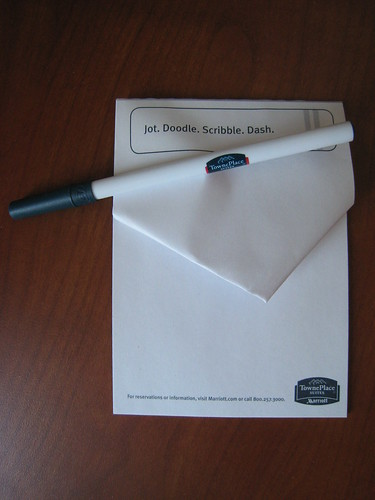 Notepad Folding