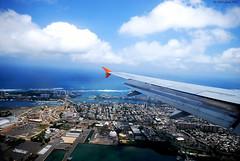 San Juan Puerto Rico Aerial View (mgupta34) Tags: ocean city clouds airplane puerto san cityscape juan puertorico flight aerialview aerial rico landing sanjuan elmoro