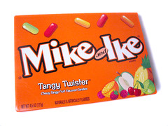 Mike & Ike Tangy Twister Package