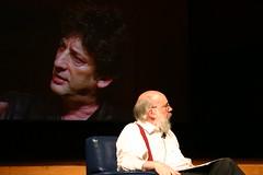 2008 Julius Schwartz Lecture (Geoffrey) Tags: mit neil lecture schwartz julius cms gaiman comparativemediastudies