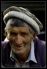 An old man from Bamburet