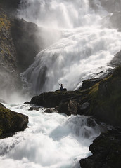 Waterfall dancer (**Anik Messier**) Tags: norway norge waterfall bravo searchthebest dancer falls soe flm myrdal chutes norvge naturesfinest kjosfossen huldra mywinners mywinner worldbest anawesomeshot impressedbeauty kjosfoss betterthangood qualitypixels vision100 swedishskogsr