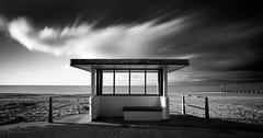 _MG_1301-2 copy (Simon J Byrne) Tags: sky blackandwhite beach water clouds landscape big sand long exposure photographer year hut lee dorset shelter filters bournemouth stopper boscombe takeaview lpoty