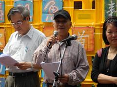 吳晟呼籲土地正義及環境倫理的價值,要能深植人心