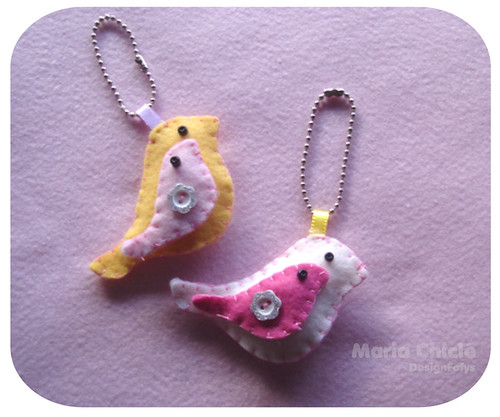 Bird ... love birds !! by Maria Chiclé ● Design Fofys