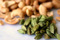 cardamom and cashews