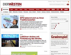 "Screenshot ""DerWesten"""