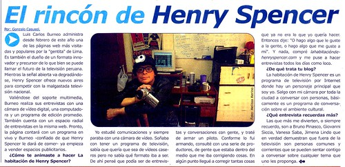 Ricon de Henry Spencer