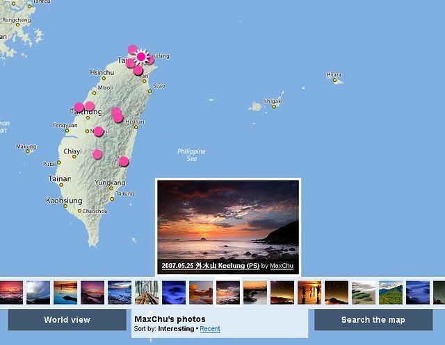 New Map Interface (by MaxChu)