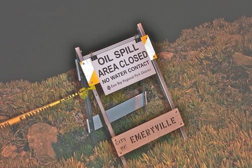 Oil Spill Area Closed