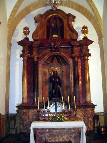 retablo de San Francisco de Paula