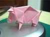 Pig (author: Stefan Weber), Folded By Me..