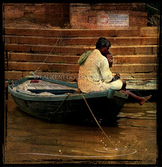 Follow my Dreams (designldg) Tags: people india texture water river boat poem colours dream fantasy monsoon elder varanasi imagination afmc ganga supernatural ganges ghats benaras uttarpradesh  indiasong platinumphoto hourofthediamondlight avertedvision