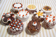 cake collection (megipupu) Tags: cake miniature handmade polymerclay fimo 112 dollhouse dollshouse