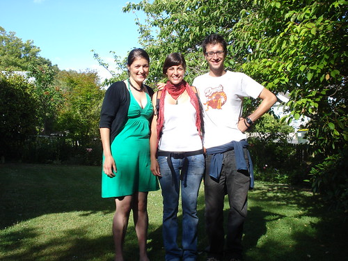 con Kirsty en Christchurch